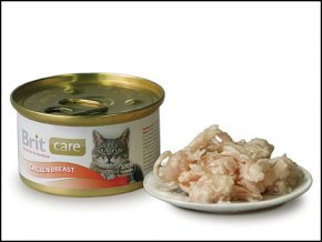 BRIT Care konzerva Chicken Breast 80g