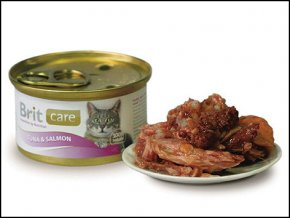 BRIT Care Konzerva Tuna & Salmon 80g