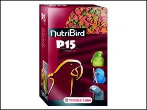 Nutri Bird P15 Tropical pro velké papoušky 1 kg