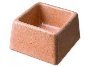 Miska BE-MI betonová čtvercová 8 cm
