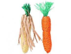 Hračka TRIXIE mrkev, kukuřice 15 cm