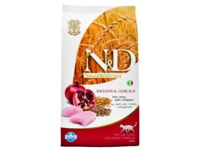 N&D Grain Free Cat Neutered Chicken & Pomegr.