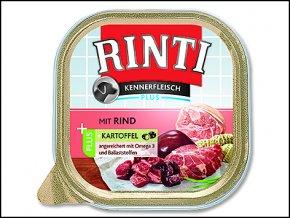 Vanička RINTI Kennerfleisch hovězí + brambory 300g