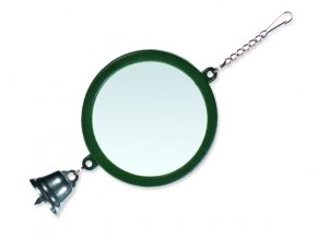 Hračka TRIXIE zrcátko se zvonečkem 7,5 cm