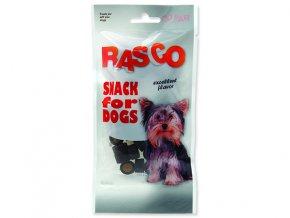 Pochoutka RASCO Dog kolečka drůbeží 50g