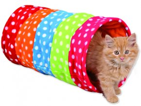 Hračka TRIXIE tunel na hraní barevný 50 cm