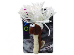 Hračka MAGIC CAT červík bavlněný plyšový mix 13,75 cm