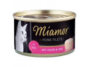 MIAMOR Feine Filets kuře + rýže v želé 100g