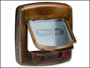 Dvířka STAYWELL hnědá magnetická 420