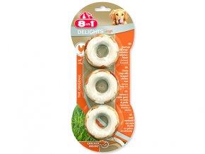 Kroužky 8 in 1 Delights žvýkací 3ks