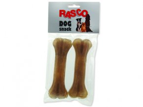 Kosti RASCO Dog buvolí 15 cm 2ks