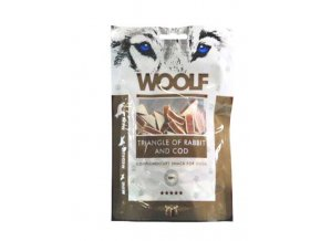 WOOLF Triangl of Rabbit and Cod 100g