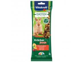 VITAKRAFT Emotion Kracker ovocné pro králíky 112g
