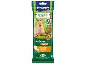 VITAKRAFT Emotion Kracker Veggie pro králíky 112g