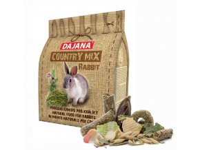 COUNTRY MIX Rabbit - králík 1000 g