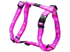Postroj ROGZ H Fancy Dress Pink Paw XL 624-SJ02CA