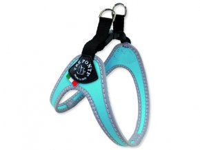 Postroj TRE PONTI reflexní do 9 kg světle modrý