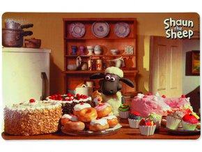 "Podložka pod misky TRIXIE Shaun the Sheep ""dobroty"" 44 x 28 cm"