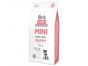 BRIT Care Mini Grain Free Puppy Lamb 7kg