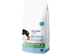 Nature's Protection Dog Dry Adult Mini 500 g