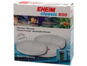 Náplň EHEIM vata filtrační jemná Classic 600 3ks