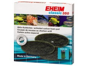 Náplň EHEIM molitan uhlíkový jemný Classic 350 3ks