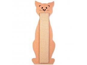 Škrabadlo TRIXIE  tvar kočka béžové 58 cm