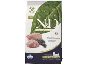 N&D Grain Free Dog Adult Mini Lamb & Blueberry 0,8 kg