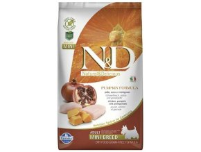 N&D Grain Free Dog Adult Mini Pumpkin Chick & Pomegranate 2,5 kg