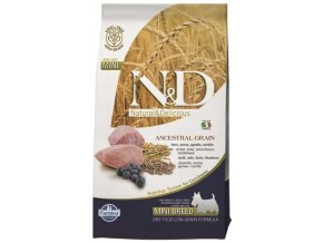 N&D Low Grain Dog Adult Mini Lamb & Blueberry