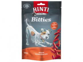 RINTI Extra Bitties kuře + rajče + dýně 100g