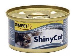 ShinyCat tuňák + krevety 70 g
