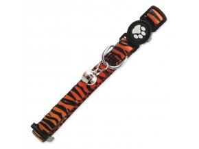 Obojek ACTIV CAT nylonový tygr XS