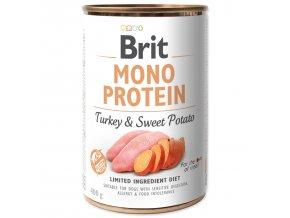BRIT Mono Protein Turkey & Sweet Potato 400g