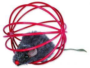 Hračka TRIXIE kovové míčky s myší 6 cm