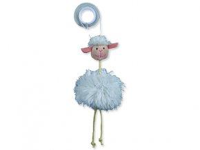 Hračka TRIXIE ovečka na gumičce 20 cm