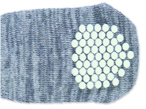 Ponožky TRIXIE protiskluzové šedé L-XL 2ks