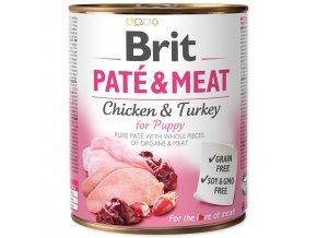 Konzerva BRIT Paté & Meat Puppy 800g