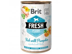 Konzerva BRIT Fresh Fish with Pumpkin 400g