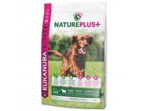 EUKANUBA Nature Plus+ Puppy & Junior Rich in freshly frozen Lamb 10kg