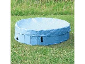 Plachta TRIXIE na bazén  světle modrá 120 cm