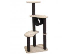 Odpočívadlo MAGIC CAT Sabina 55x40x125cm béžovo-černé
