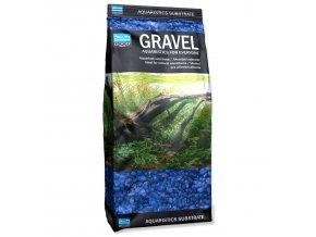 Písek 3-6 mm modrý 1kg
