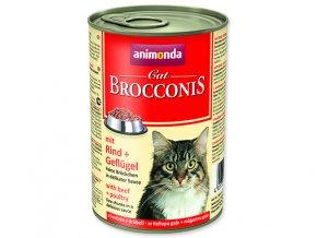 ANIMONDA Brocconis hovězí + drůbež 400g