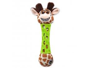 Hračka BeFUN TPR+plyš žirafa puppy 17 cm