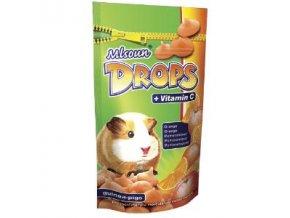 Mlsoun Drops Pomeranč + Vitamín C 75 g