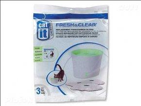 Náplň uhlí + molitan pro fontány CAT IT New (3ks)