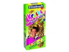 VITAKRAFT Kräcker kukuřice+ovoce Potkan 2 ks