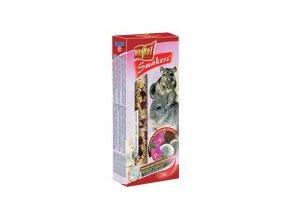 VITAPOL-SMAKERS Kokos-růže pro Činčily 2 ks
