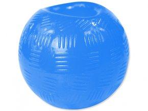 Hračka DOG FANTASY míček gumový modrý 6,3 cm